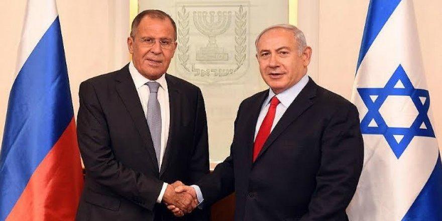 Lavrov, Netanyahu ile görüştü