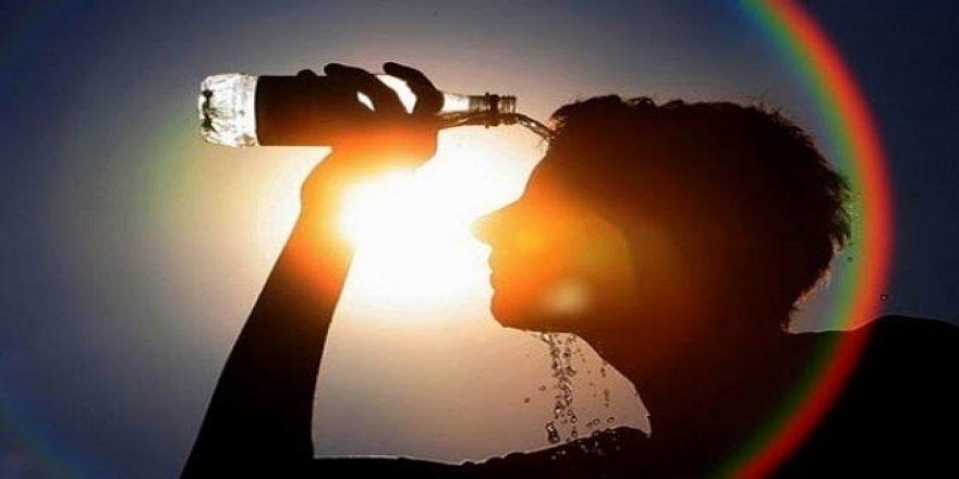 Sıcak havalarda güneş çarpmasına dikkat
