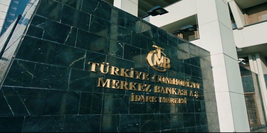 Merkez Bankası'nın toplam rezervleri azaldı