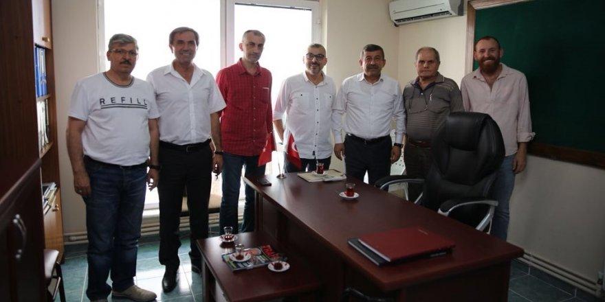 Karabacak'tan teşekkür ziyareti