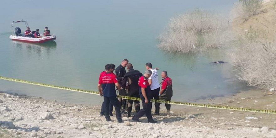 Barajda ceset bulundu