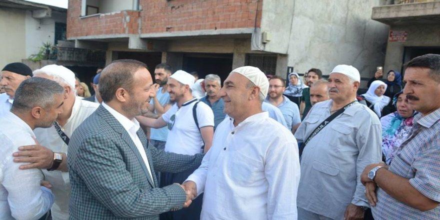 Toltar, hacı adaylarını kutsal topraklara uğurladı