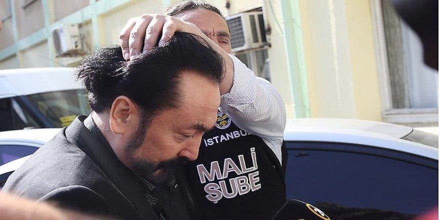 Oktar'ı gözaltına alan polisi tehdit eden kişi tutuklandı