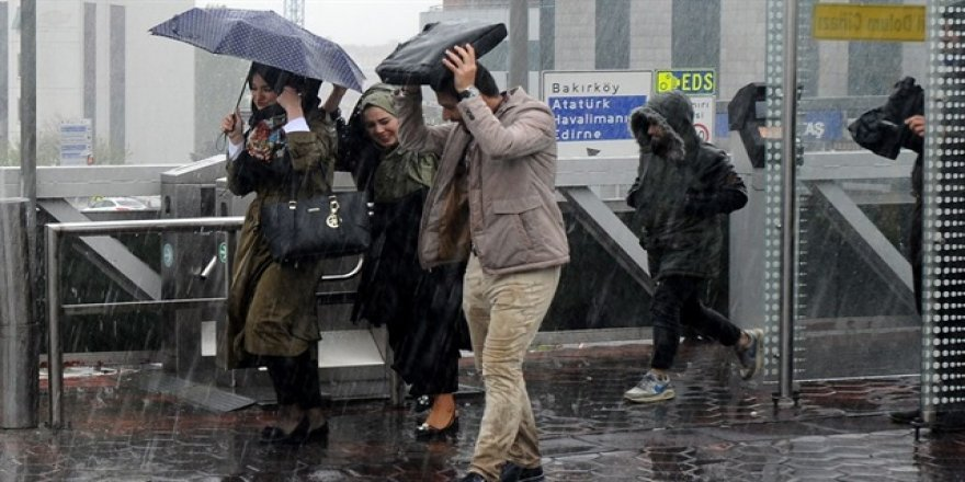 Meteoroloji uyardı: Bugüne dikkat !