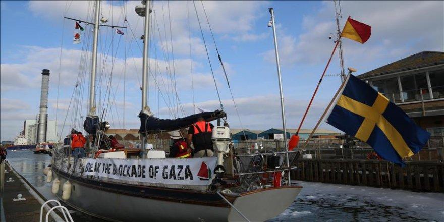 İsrail'den Gazze yolundaki tekneye müdahale