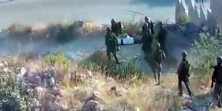 İsrail askerlerinden insanlık dışı gözaltı