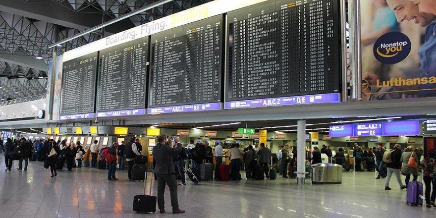 Frankfurt havalimanında kısmi tahliye