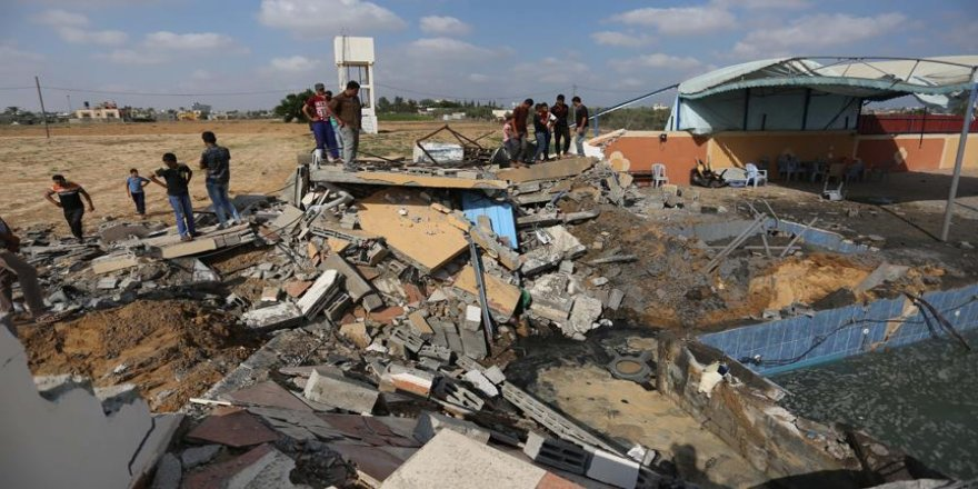 İsrail Gazze'de 140 noktayı vurdu