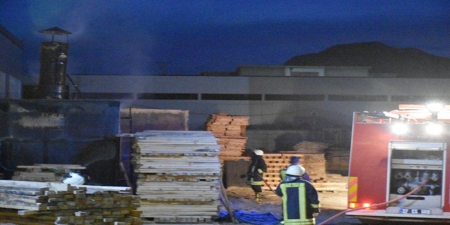 Organize Sanayi Bölgesinde fabrika yangını