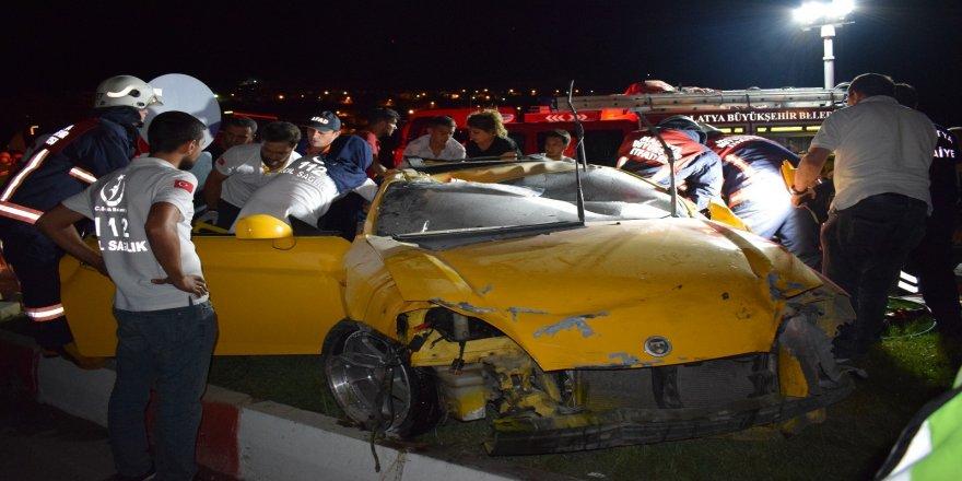 Feci kaza : 2 ağır yaralı