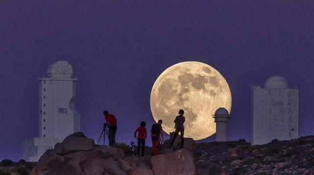 Gökyüzünde görsel şölen! Bu gece Ay'a bakmayı unutmayın!