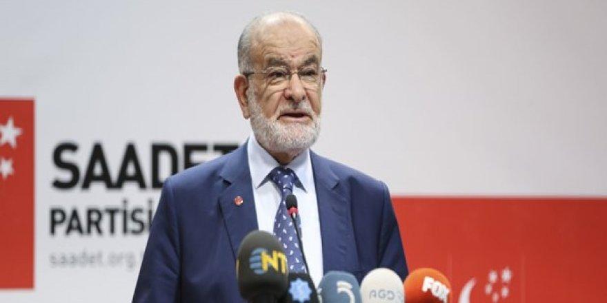 Karamollaoğlu'ndan hükümete destek açıklaması