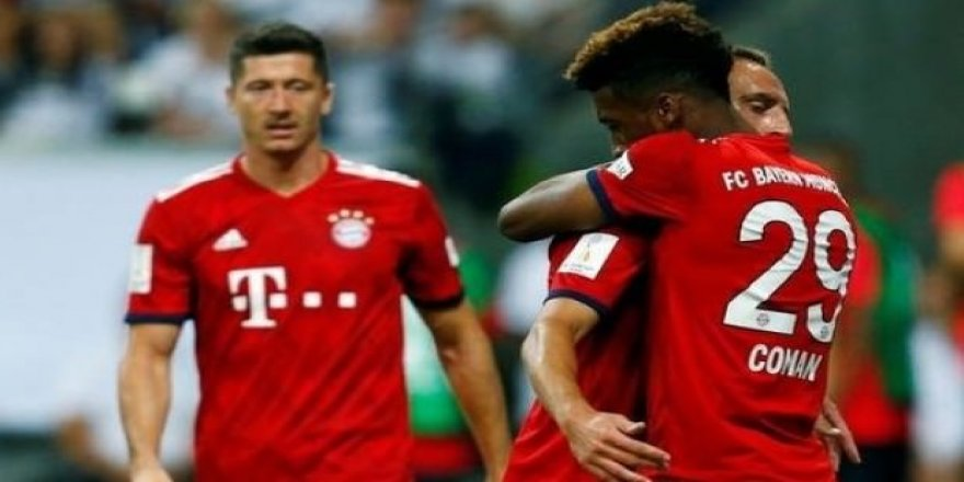 Bayern Münih, kupayı kazandı