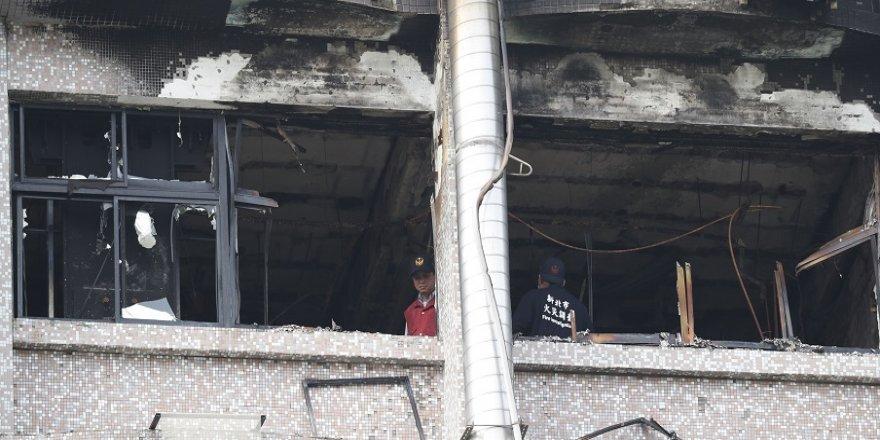 Bakım evinde yangın: 9 ölü