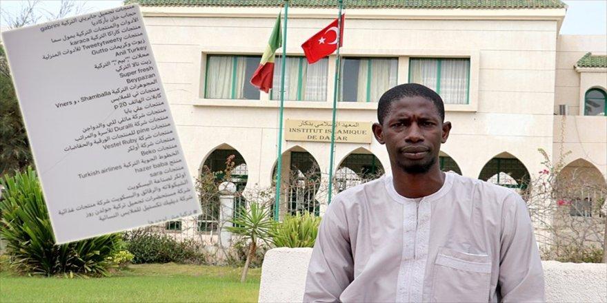 Senegal'den Türkiye'ye 'Türk markası kullanımı' desteği