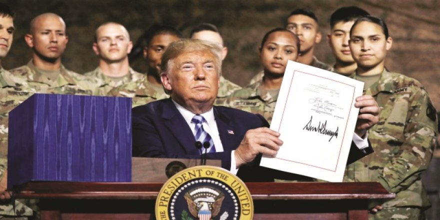 Trump o imzayı attı