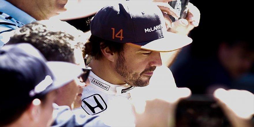 Alonso'dan Formula 1'e veda