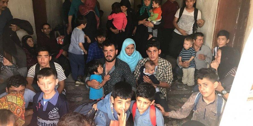 299 yabancı uyruklu kaçak şahıs yakalandı
