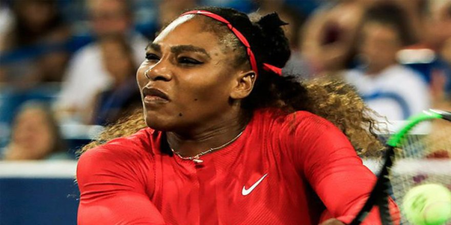 Serena Williams'tan erken veda