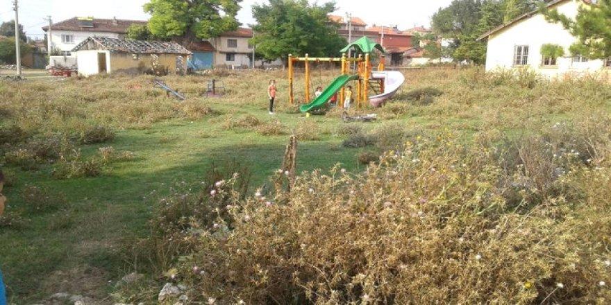 Burası bir çocuk parkı
