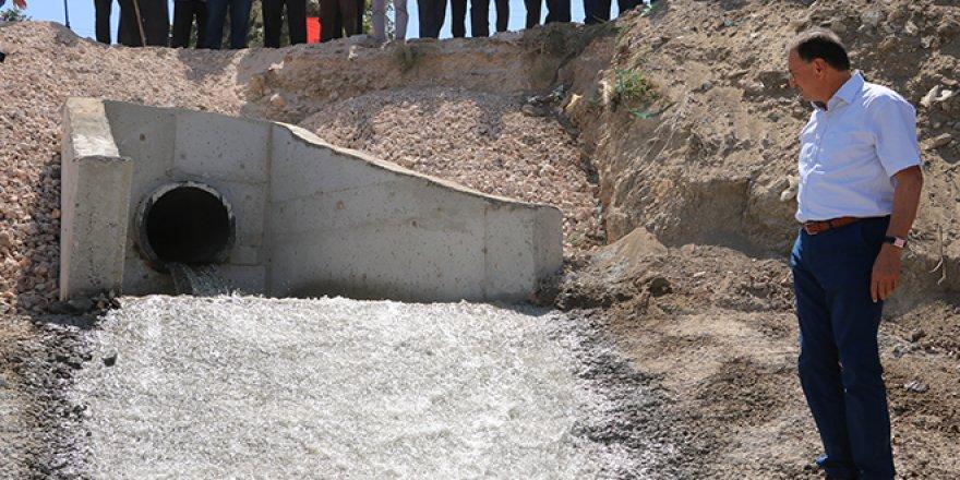 Asi Nehri'ne ilk temiz su verildi