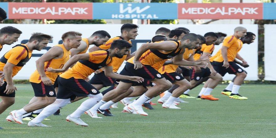 Galatasaray, Göztepe maçı hazırlıklarını sürdürdü