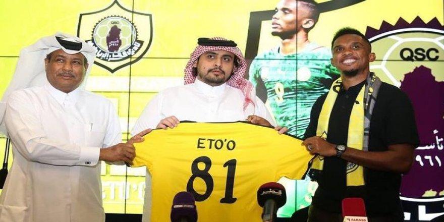 Samuel Eto'o, 5 milyon Euro kazanacak!