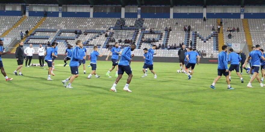 B.B. Erzurumspor'da Beşiktaş hazırlığı sürüyor