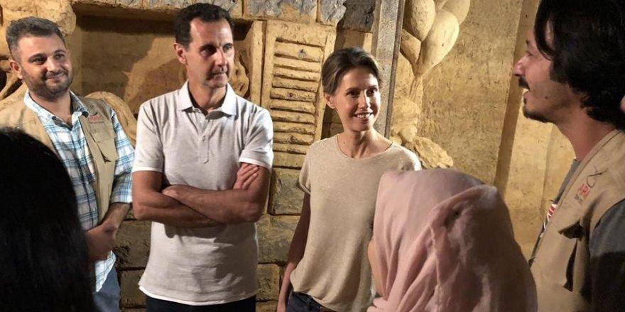 Beşar Esad, Şam'da bir tüneli inceledi