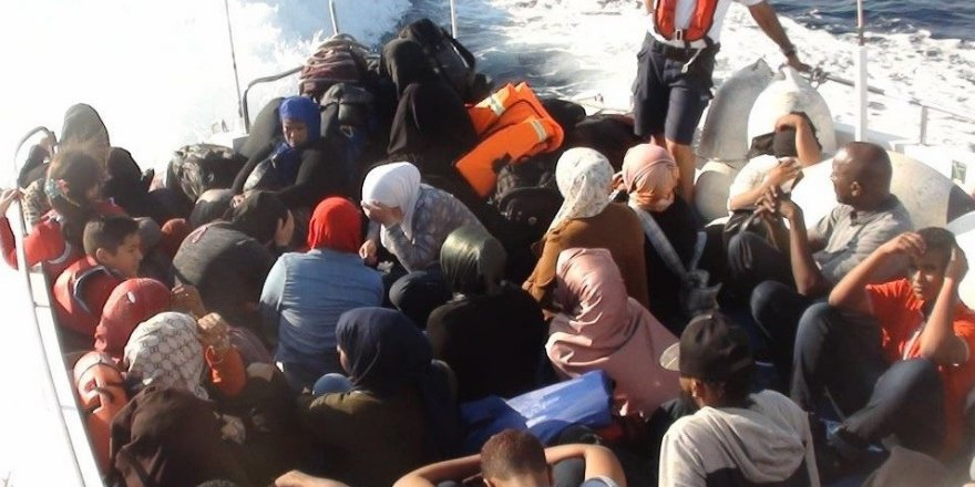85 göçmen yakalandı