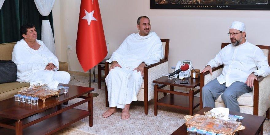 Bakan Gül, Mekke'de Erbaş'ı ziyaret etti
