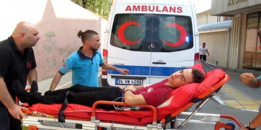 Kocaeli'de 616 acemi kasap yaralandı