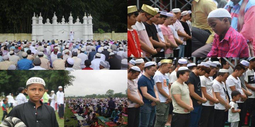 İslam aleminde Kurban Bayramı'nı coşkusu