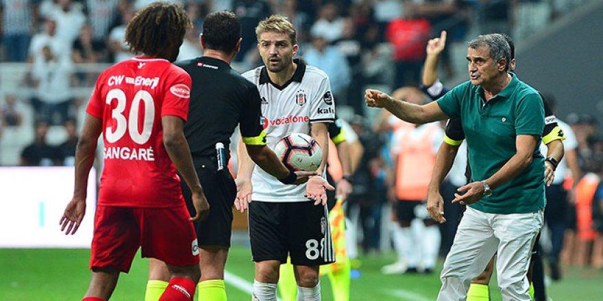 Beşiktaş, Şenol Güneş'le 3'te 3 yapamadı