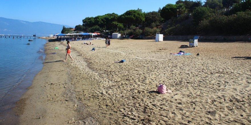 Tatillciler gitti, sahiller boşaldı