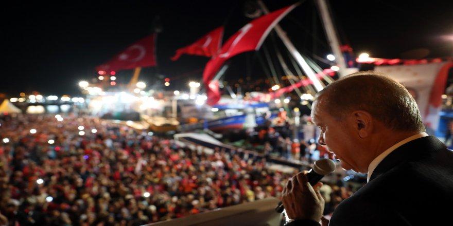 Cumhurbaşkanı Erdoğan 'vira bismillah' dedi