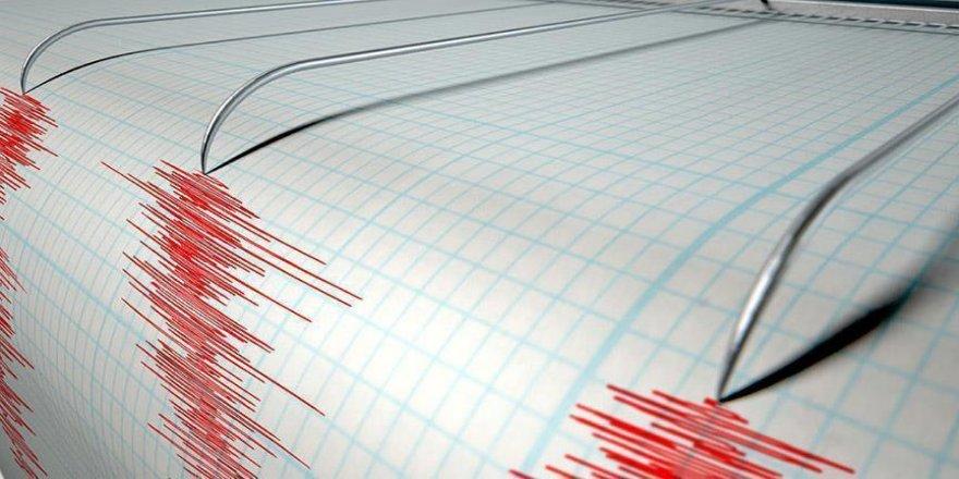 5,5 büyüklüğünde deprem
