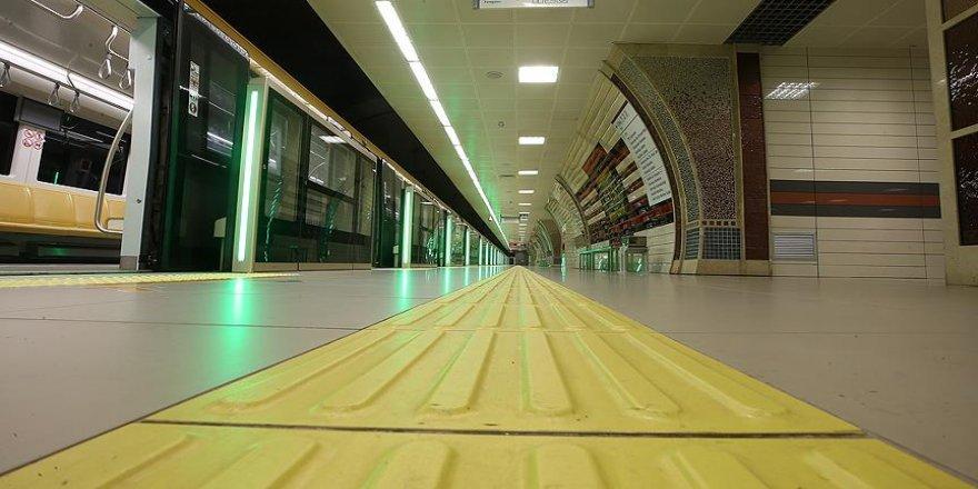 Yenikapı-Hacıosman metro hattında arıza