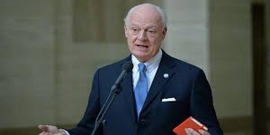 BM Suriye Özel Temsilcisi Mistura'dan Suriye açıklaması