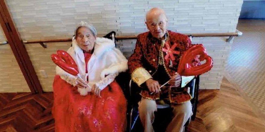Dünyanın en yaşlı çifti rekoru yenilendi