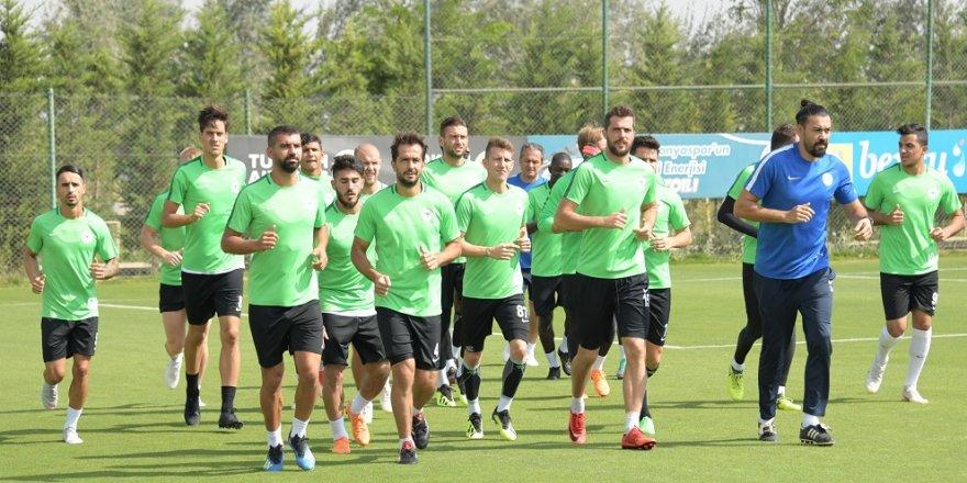 Konyaspor, Fenerbahçe maçına hazırlanıyor