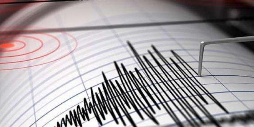 5,9 büyüklüğünde deprem !