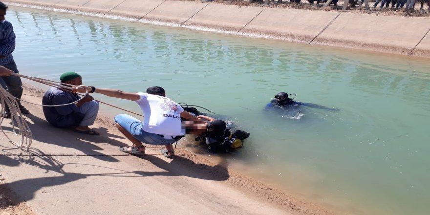 Serinlemek için girdiği sulama kanalında boğuldu