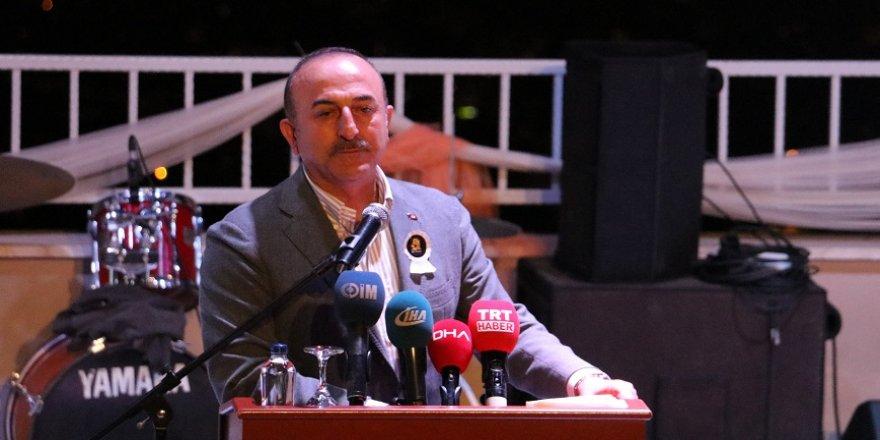 Bakan Çavuşoğlu: Saldırının arkasında Müslüman ülkeler de var
