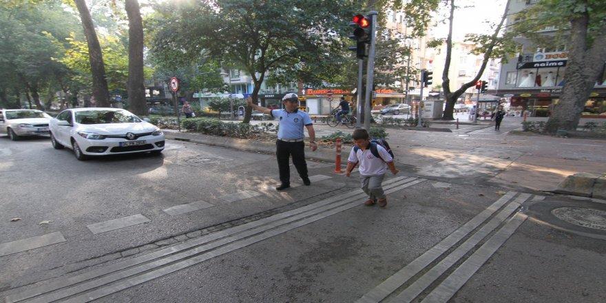 Okul öncesi trafik toplantısı