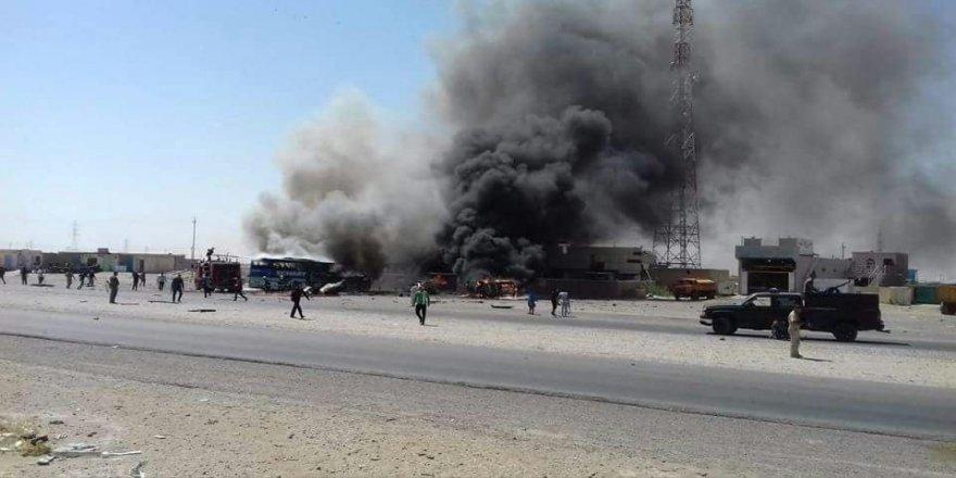 Patlama: 5 ölü, 30 yaralı