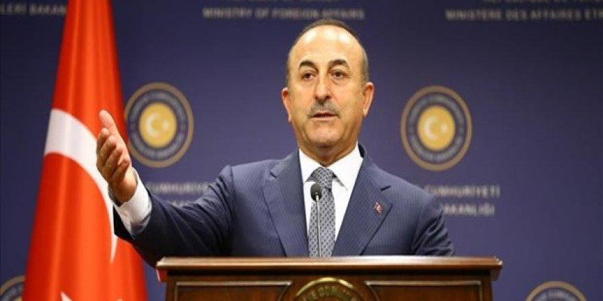 Çavuşoğlu'dan Fransa'ya Suriye Zirvesi telefonu