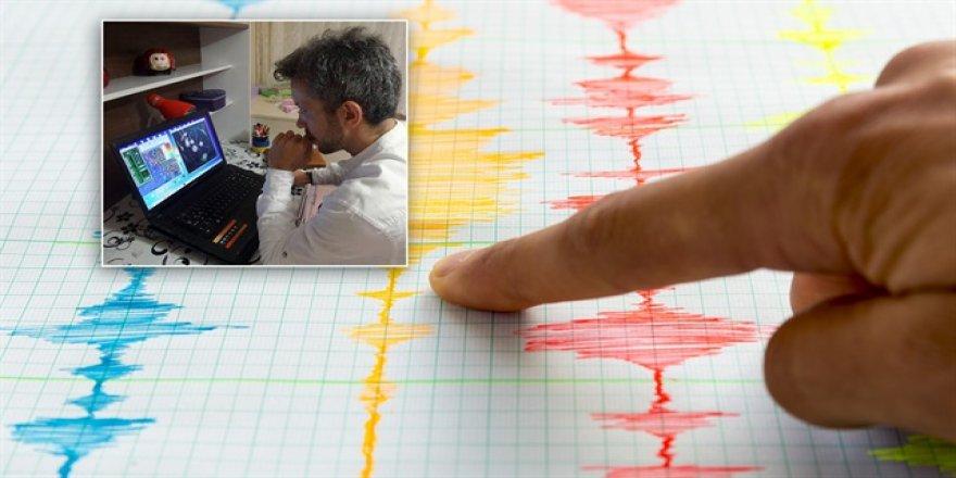 Depremi 24 saat önce bildi