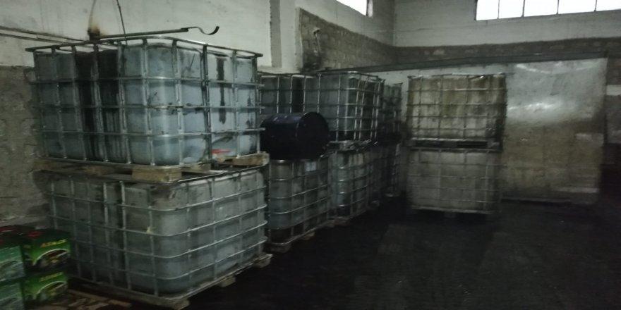 13 bin litre kaçak akaryakıt ele geçirildi