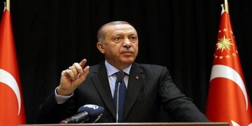 Cumhurbaşkanı Erdoğan'dan rest !